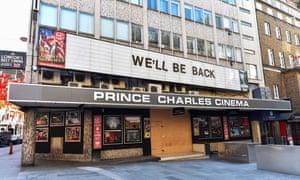 The Prince Charles cinema in London.