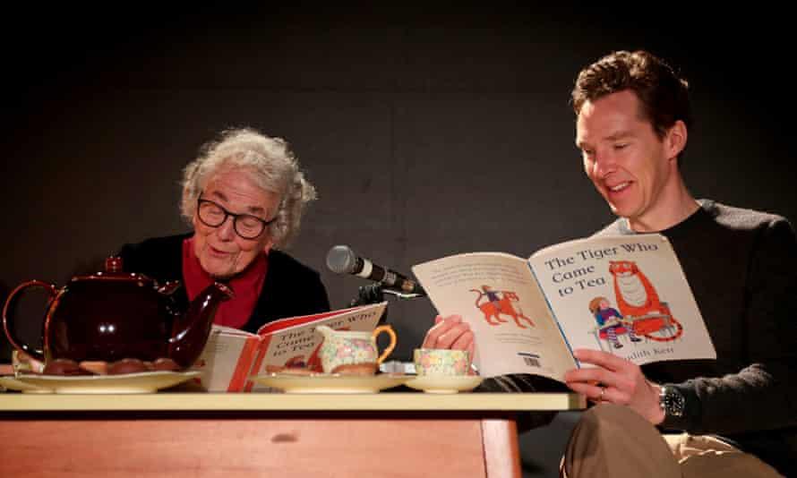 Judith Kerr and Benedict Cumberbatch