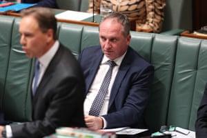 As does Barnaby Joyce