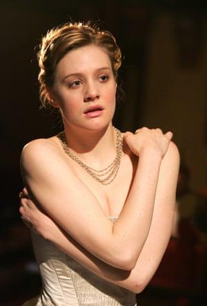 Romola Garai in King Lear, New London theatre, 2007.