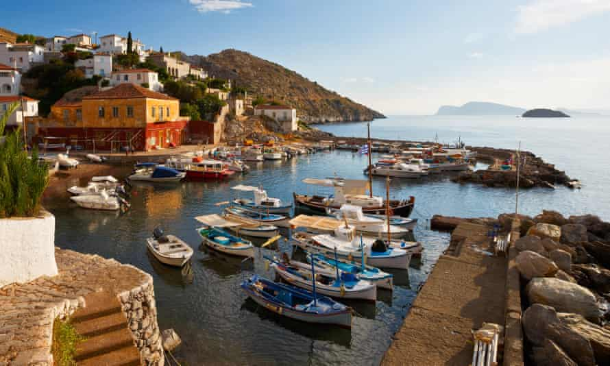 Island mentality … the Peloponnese.