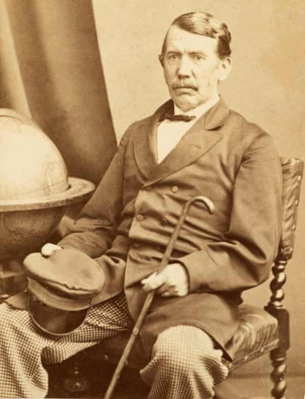 David Livingstone seated