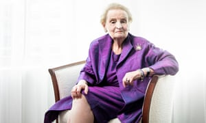 Madeleine Albright: 'The things that are happening are