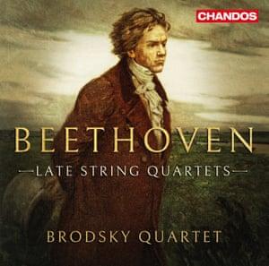 Beethoven: Late String Quartets album art work