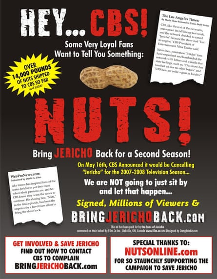 Nuts! The campaign to save Jericho.
