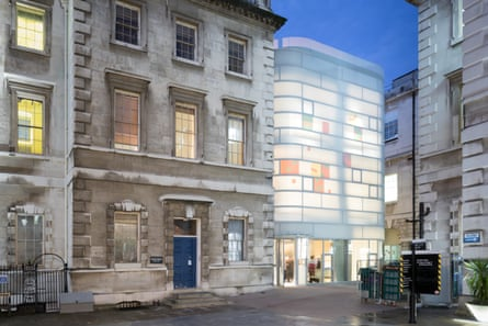 'Its milky surface echoes the Bath stone of its 18th-century neighbours' ... Maggie's centre.