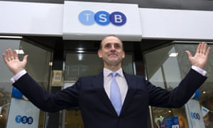 TSB chief executive Paul Pester