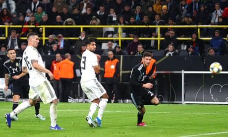 Germany 2-2 Argentina: international football friendly – as it happened