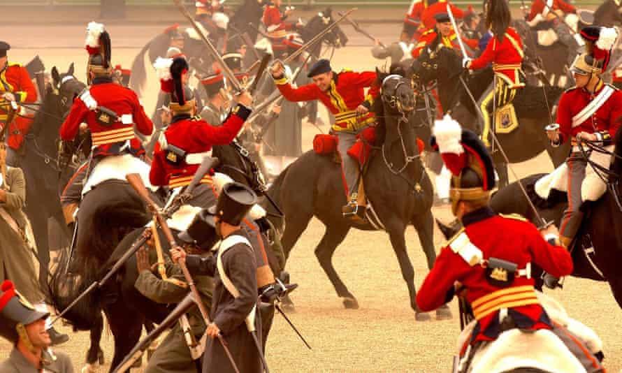 2007 re-enactment of the Battle of Waterloo