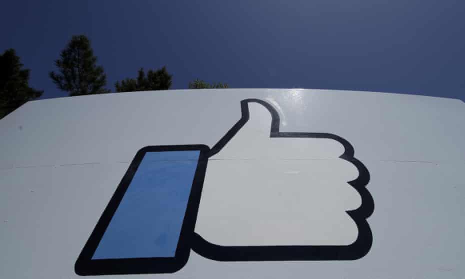 Facebook 'like' symbol.