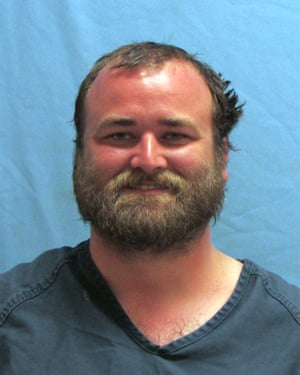 Michael Tate Reed, 32, who has been arrested in connection with the destruction of the monument