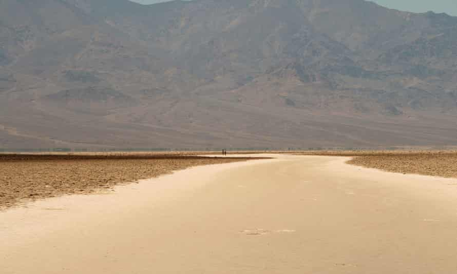 The Badwater basin in Death Valley national park in 2017.
