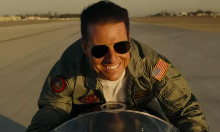 Top Gun 2: Tom Cruise in the official trailer for the sequel, Top Gun: Maverick.