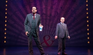 Penn & Teller On Broadway, Marquis Theatre, 2017. They have co-written Magic Goes Wrong.