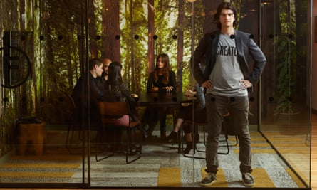 Let's get to work: Adam Neumann of WeWork in one of the firm's six London offices.