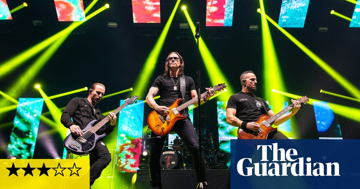 Alter Bridge review – holy mountain of noise fromhard rocks nice guys