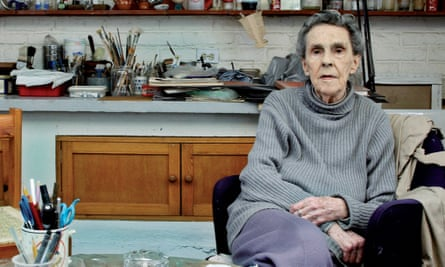Spiky and uncompromising … Leonora Carrington in her studio in Mexico City in 2010.