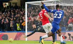Michy Batshuayi missed several chances against Manchester United.
