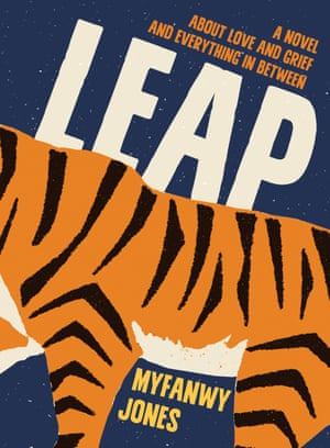 The cover of Myfanwy Jones' Leap