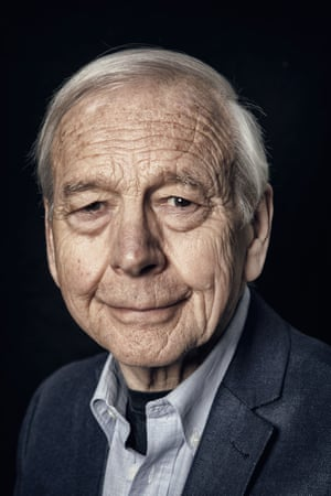 John Humphrys photographed at his home in London