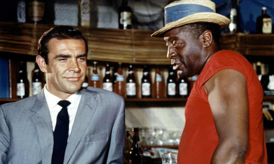Sean Connery and John Kitzmiller in Dr No (1962).