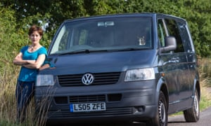 Amy Jackson hopes life in a VW Camper van means she will be to pay off her fixed-rate mortgage in three years.