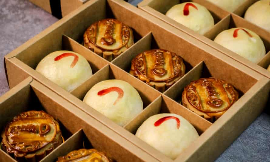 Ommi's specialty mooncakes for this year's Mooncake season