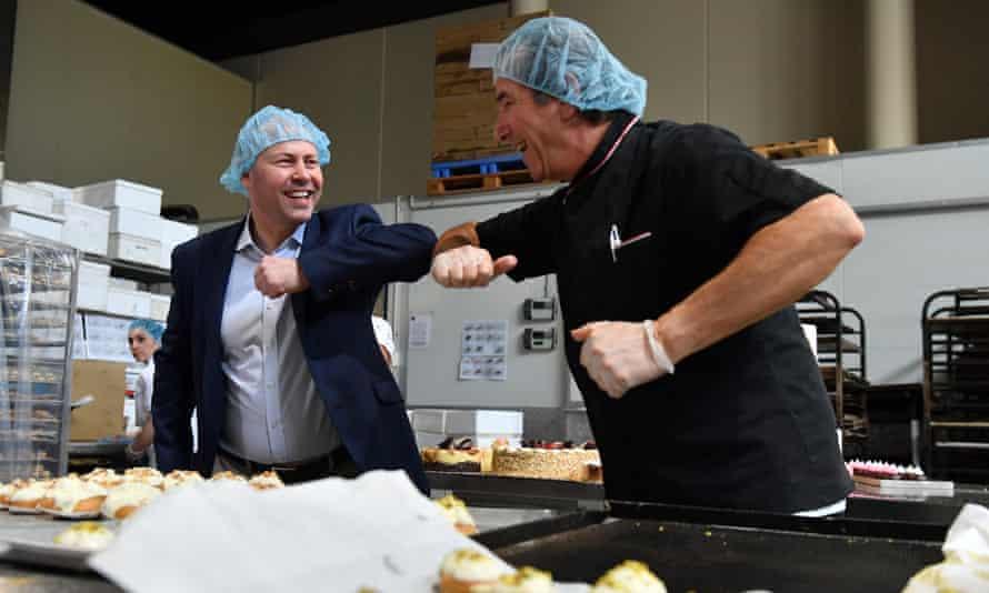 Josh Frydenberg and Sydney baker