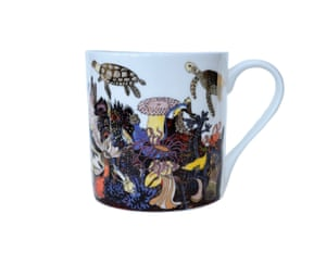 Yours Sustainably sells sustainable or socially responsible products, including china from Arthouse Unlimited, a charity for adults with complex disabilities. Angels of the Deep mug, £12.50, yourssustainably.com