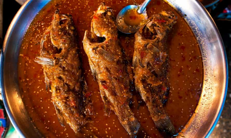Favourite dish: deep-fried spicy sweet and sour fish.