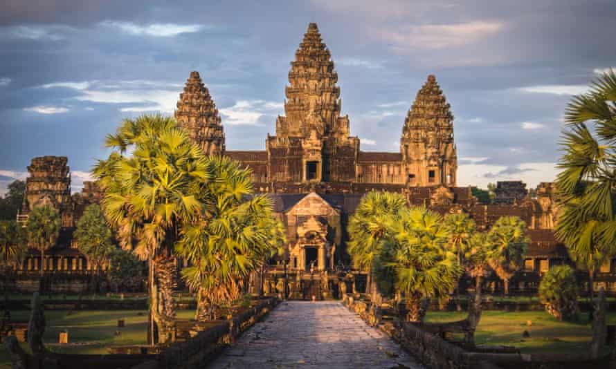 Angkor Wat in Cambodia.