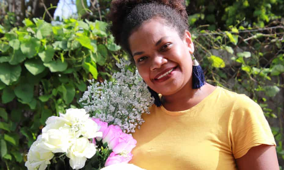 Vasiti Masi lost her job due to the coronavirus outbreak, but has been able to keep her flower business afloat through bartering.