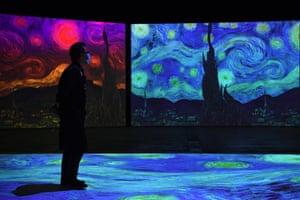 Estreia australiana de 'Van Gogh Alive' em Sydney