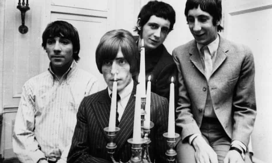 The Who on tour, 1966.