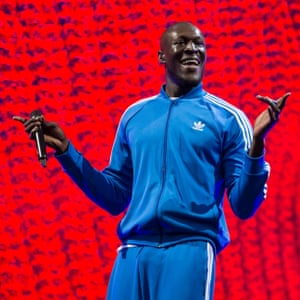 Stormzy performs on the Other stage.