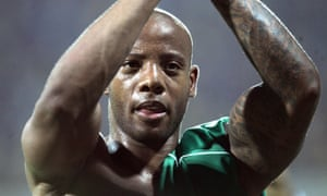 Junior Agogo was capped 27 times by Ghana, scoring 12 goals.