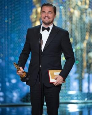 They like him, they really like him … Leonardo DiCaprio
