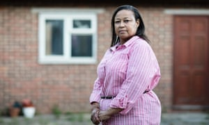 Sharon Clarke, whose father Henry Clarke was brutally murdered in Jamaica at the end of 2010. Sharon is still campaigning for justice and a proper investigation into the murder.