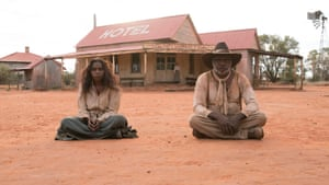 Hamilton Morris as Sam and Natassia Gorey-Furber as Lizzie in Sweet Country