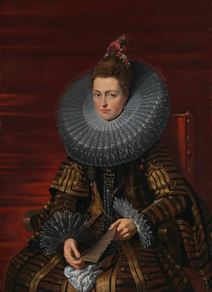 Peter Paul Rubens, Portrait of the Infanta Isabella, about 1615.
