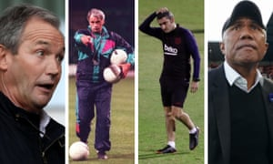 George Burley, Bobby Robson, Erensto Valverde and Antoine Kombouaré have all been given their marching orders while top of the league.