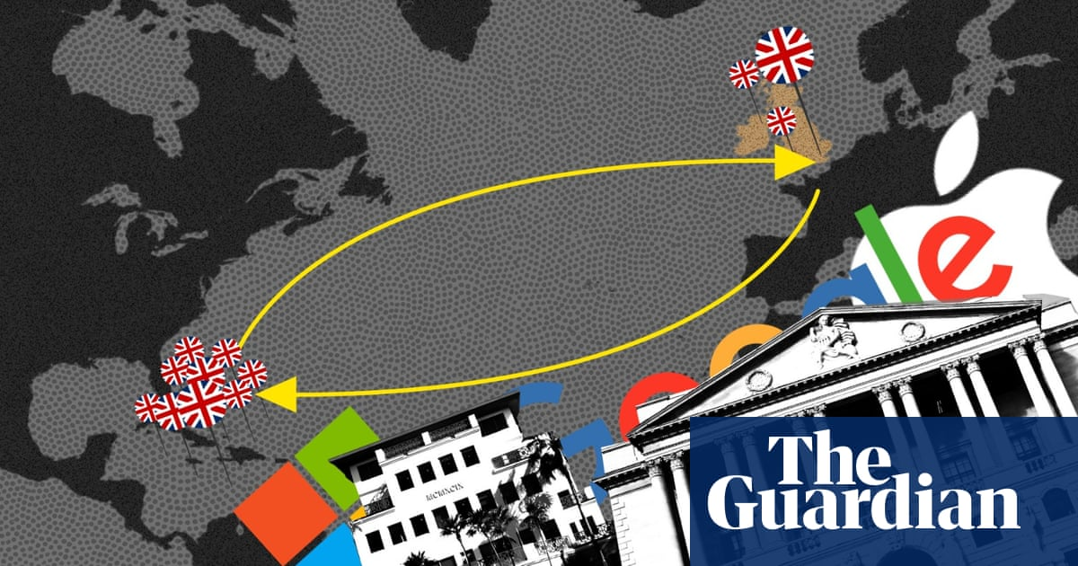 How Britain is responsible for a third of the world's lost taxes – video