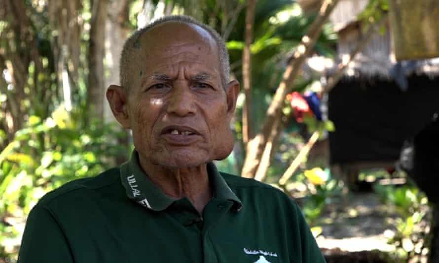 Tebukewa Mereki, Wagina elder who led the legal challenge against the proposed mine
