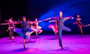 Open Door, part of Programme B by Alvin Ailey American Dance Theater at Sadler's Wells, 8-09-16.
