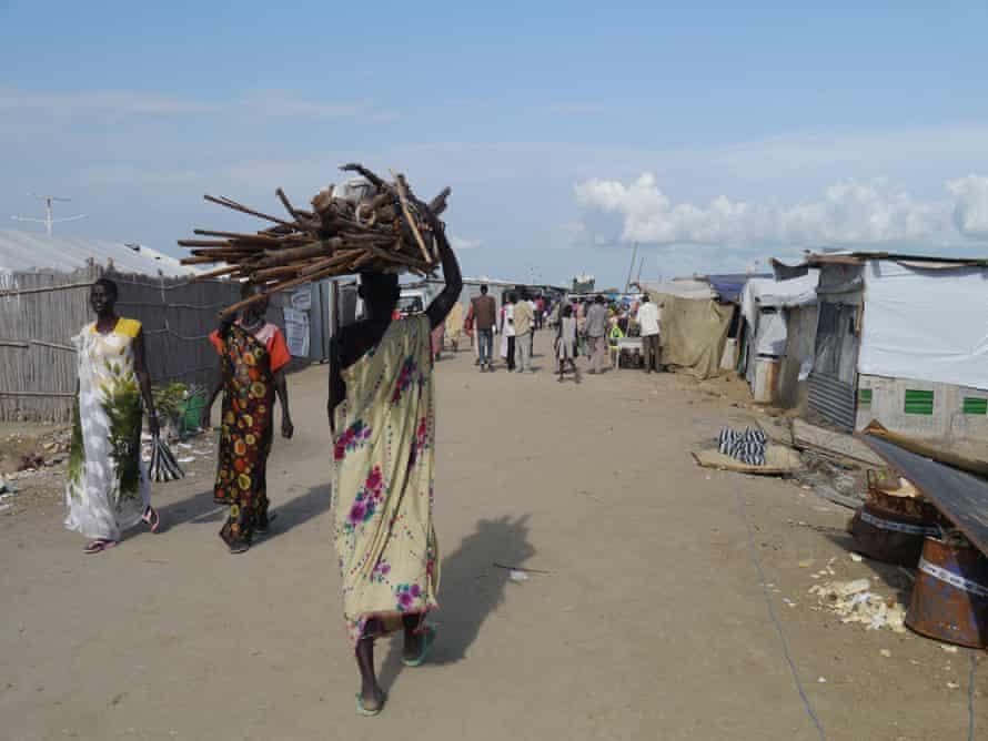 The IDP camp in Malakal, South Sudan.