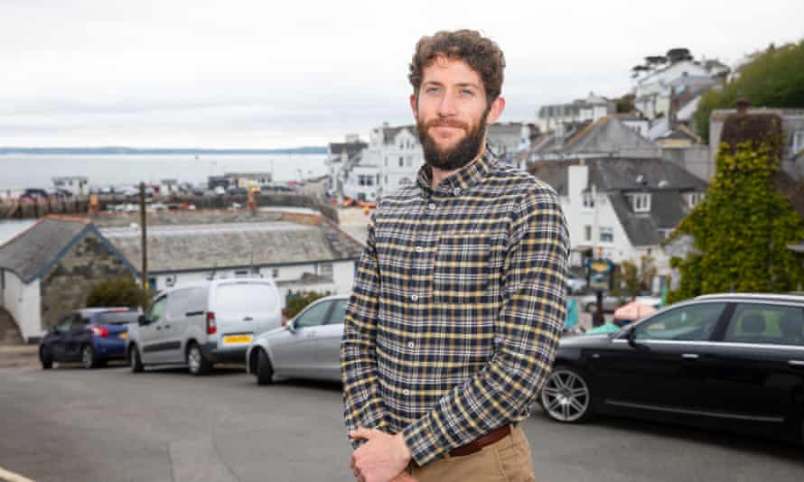 Thomas Sparkes, senior valuer at H Tiddy estate agents in St Mawes in Cornwall.