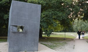 A memorial in Berlin dedicated to gay people persecuted by the Nazis.