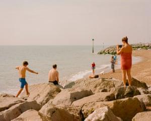 Felixstowe Beach, Suffolk.