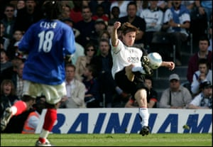 Brian McBride scored 12 goals in 2006–07 season, helping Fulham stay up.