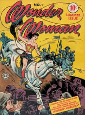 Wonder Woman #1, her first headline adventure from summer 1942.